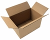 Caisses américaines (cartons) : 250 x 180 x 140 mm simple cannelure